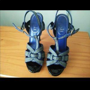 100% Authentic YSL Tribute Heels